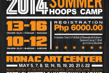 SLAM PHILIPPINES SUMMER HOOPS CAMP 2014