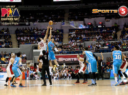 All Knotted Up, Ginebra and San Mig Coffee Go for Pivotal Game 5 Win