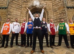 LeBron James-inspired groomsmen pic hits the internet
