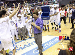 Mixers assistant Richard Del Rosario's Grand Slam experience