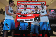 FIBA reveals groupings for 3×3 World Tour Manila Masters