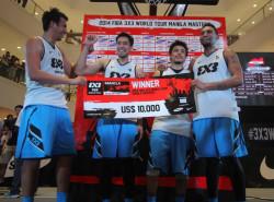 FIBA reveals groupings for 3×3 World Tour Manila Masters