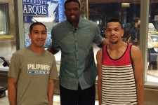 PHOTOS: Gilas players hang out with Heat's Luol Deng