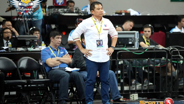 Chot Reyes reveals 12-man Gilas Asian Games roster