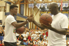 LOOK: Michael Jordan's latest Flight School feat – taking on Jimmy Butler