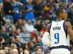 Mavericks suspend Rajon Rondo for one game