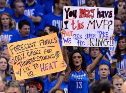 Which team has the best NBA fans? Forbes.com has a surprising answer