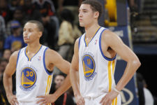 Splash Brothers stop James Harden late, put Warriors up 2-0