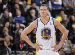 VIDEO: Klay Thompson's 37-point quarter gets the NBA Jam treatment