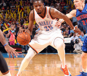 Video: Kevin Durant drops 42 versus Detroit, helps OKC secure second spot in the West