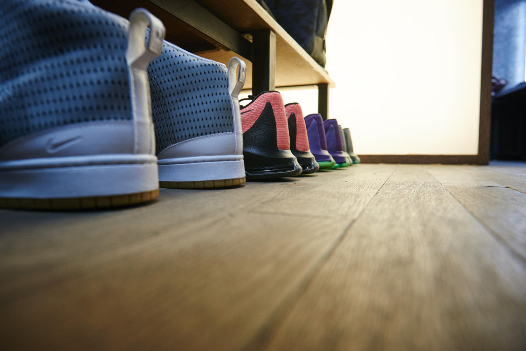 From on to off court, KD has a lineup of size 18's awaiting his arrival at a Paris studio.