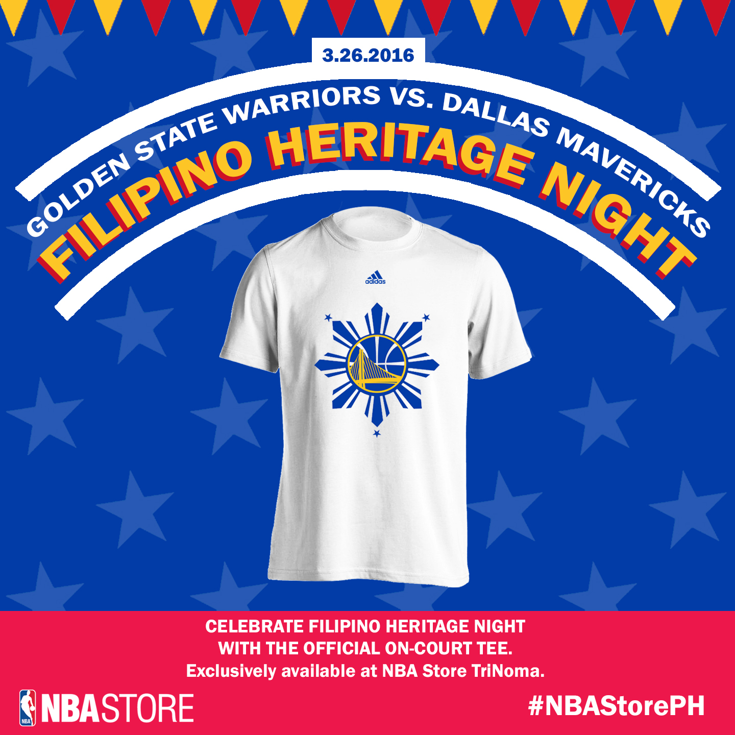 NBA Store PH to release GSW Filipino Heritage Night shirt ...