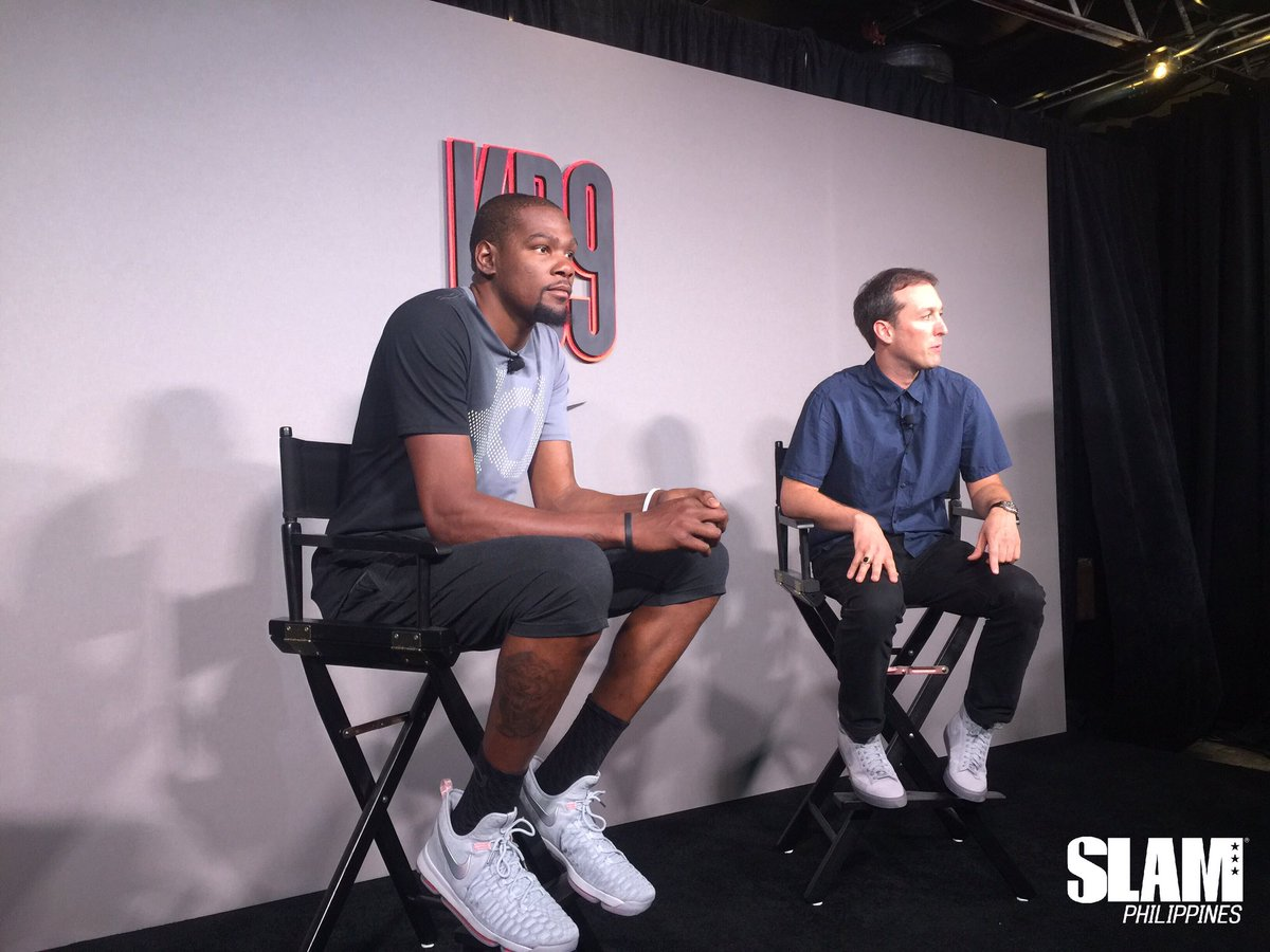 LOOK: Nike unveils the KD9 in Austin, Texas