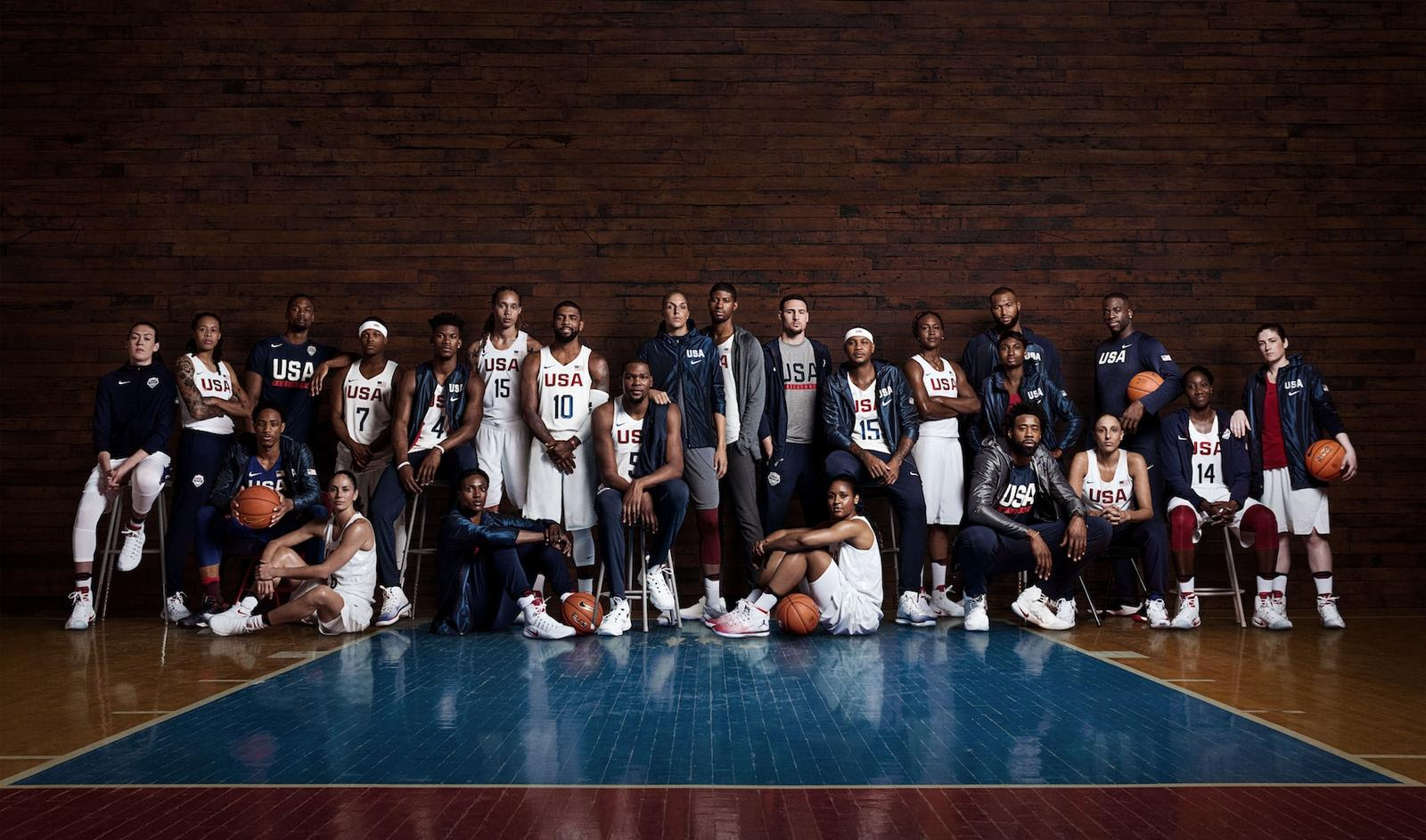 WATCH: US men's and women's basketball teams are Unlimited Together