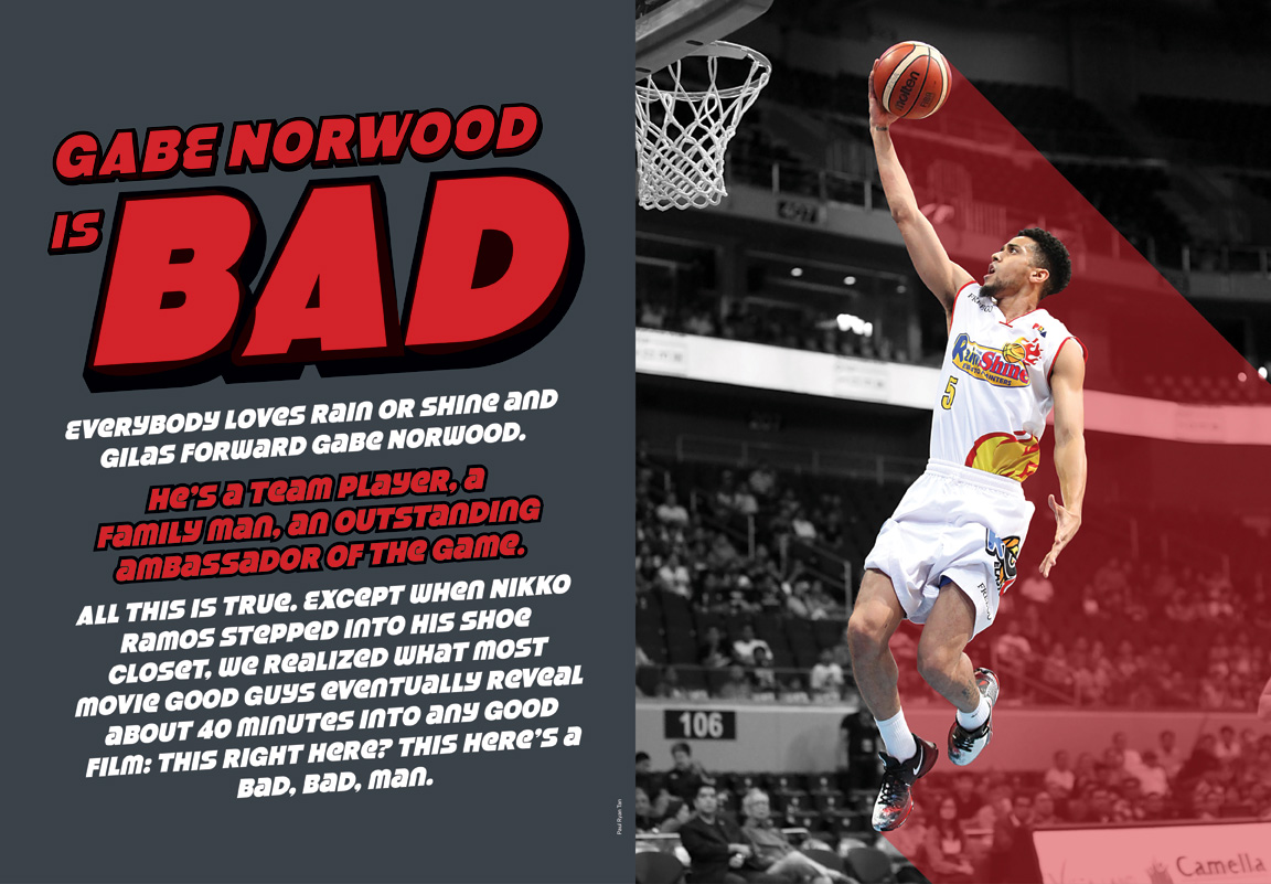 IN THE ISH: Gabe Norwood is a bad, bad man