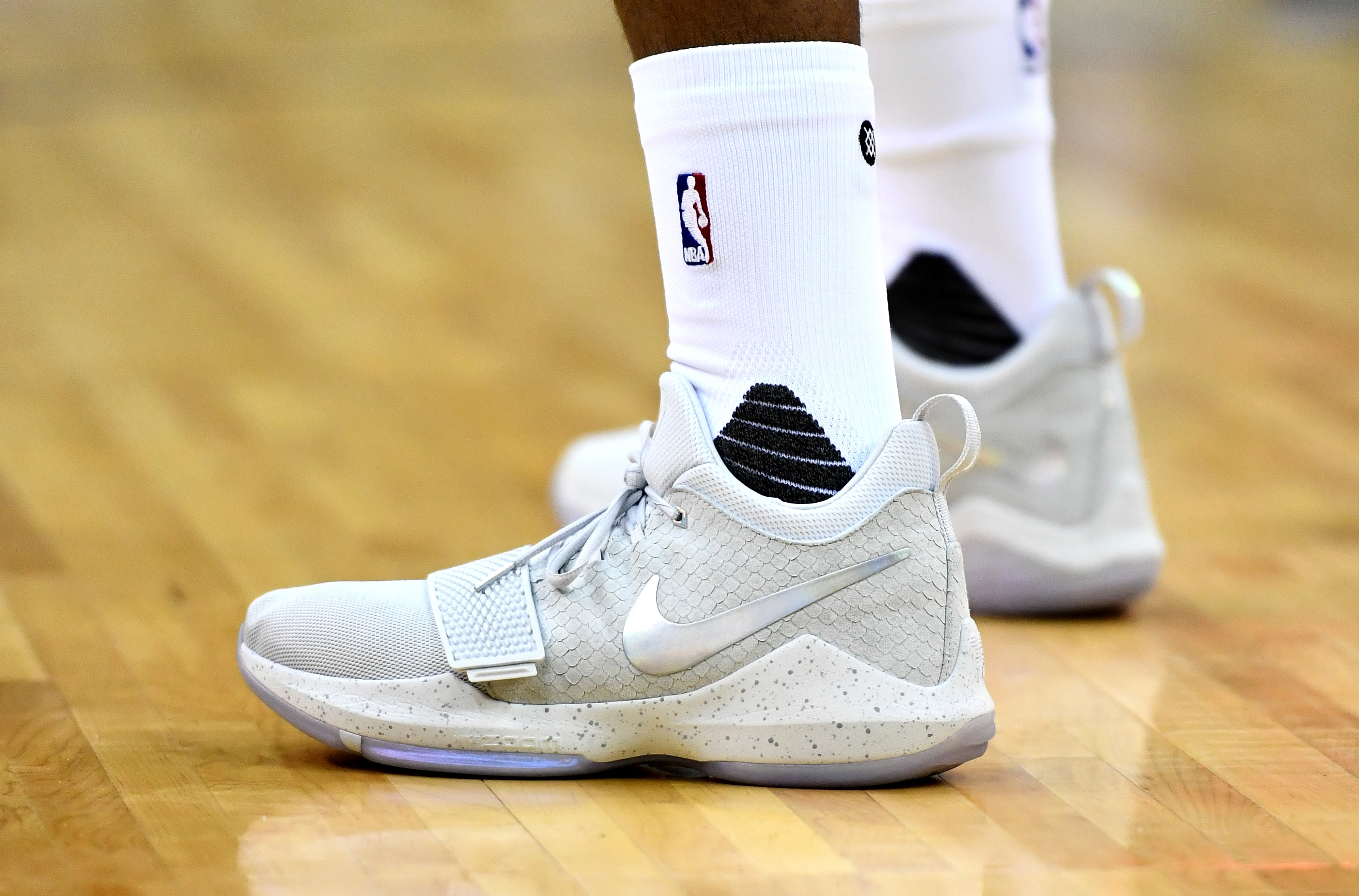 LOOK: Check out the tech sheet of the PG1, Paul George's first signature shoe