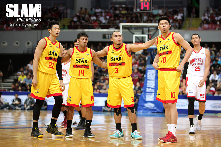 PBA - Ginebra vs Star Hotshots - February 13, 2017 - PRT - 1