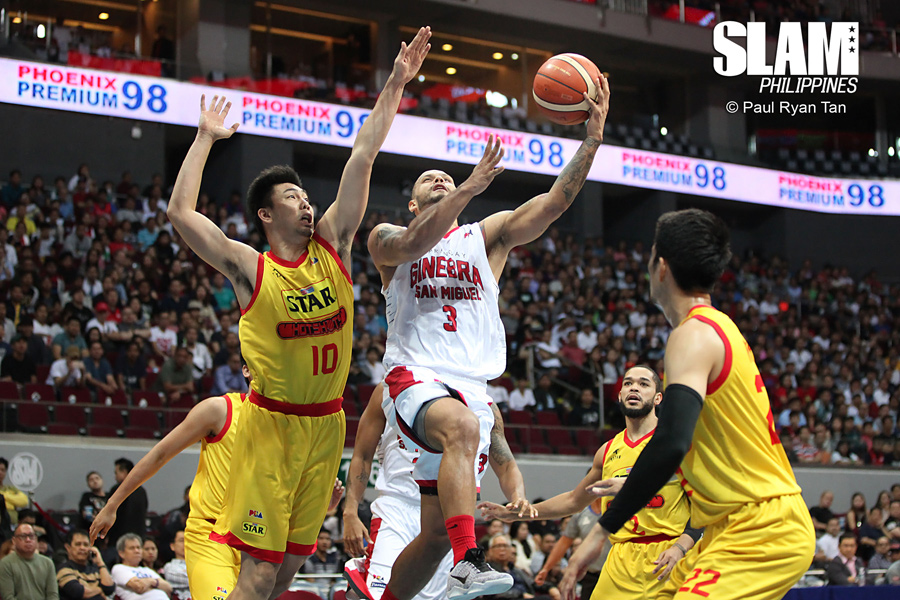 PBA - Ginebra vs Star Hotshots - February 13, 2017 - PRT - 2