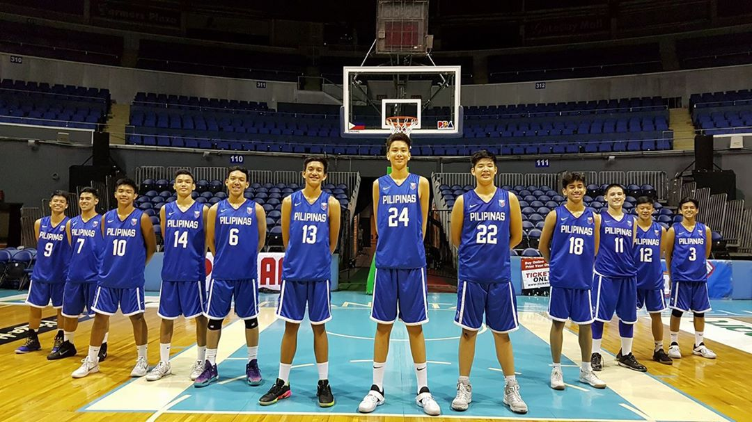 Batang Gilas U16 - May 2017