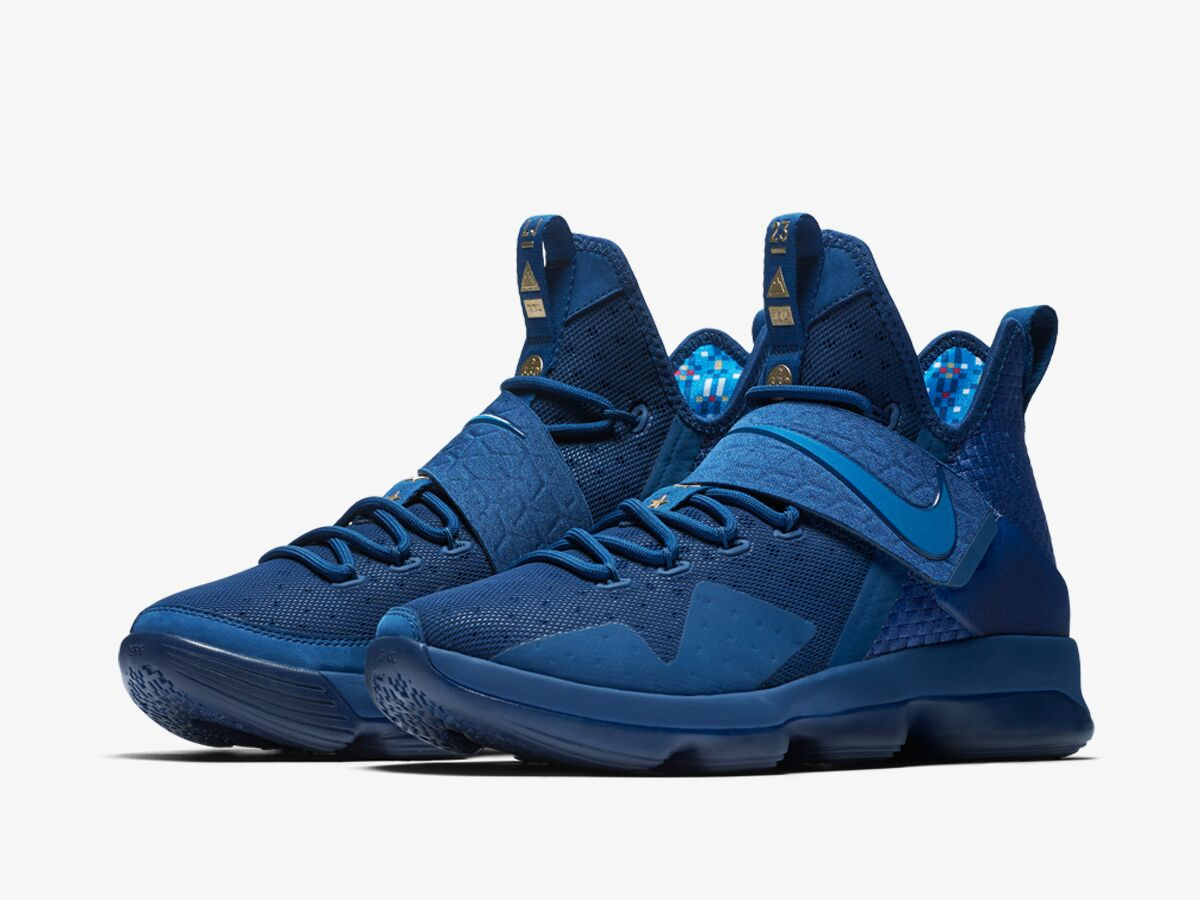 ... and distinct cultural elements built into the shoe design, the LeBron  14 Agimat combines the best of Nike performance innovation and Filipino  heritage.