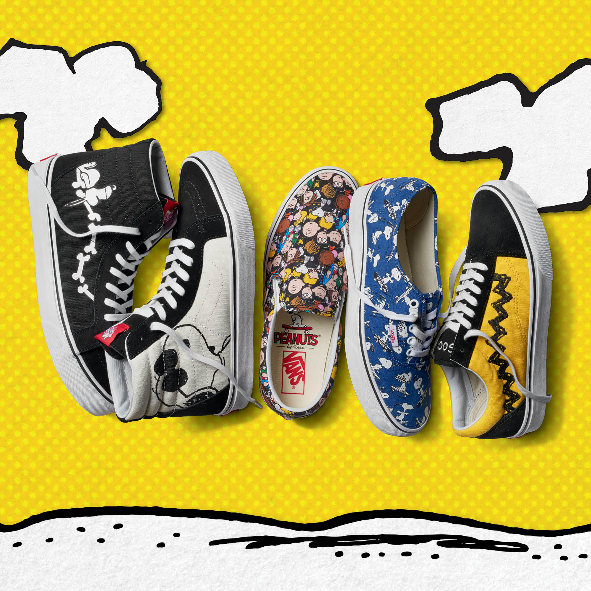 Vans releases nostalgic Capsule Collection featuring the Peanuts Gang