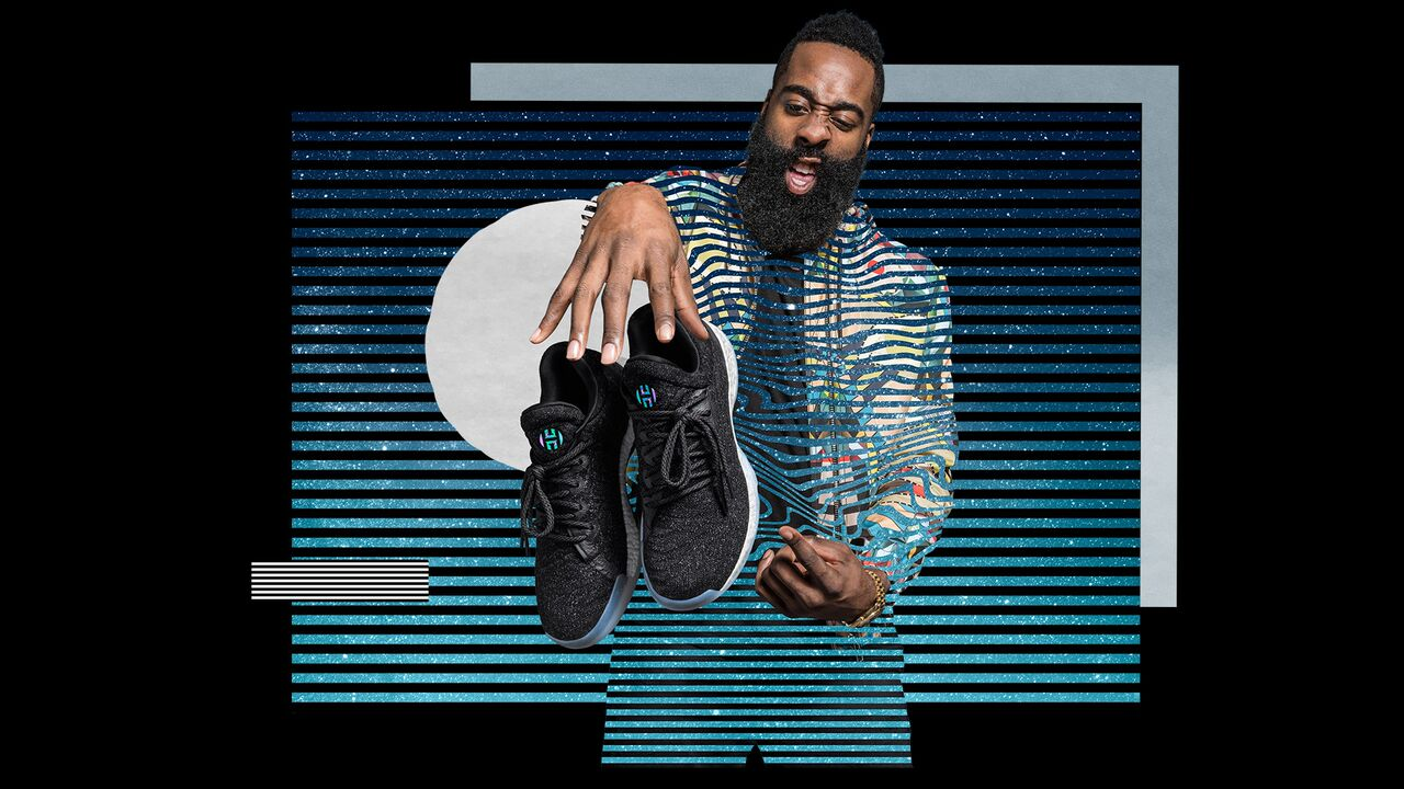 The Harden Vol. 1 steps off  the court with the Harden LS