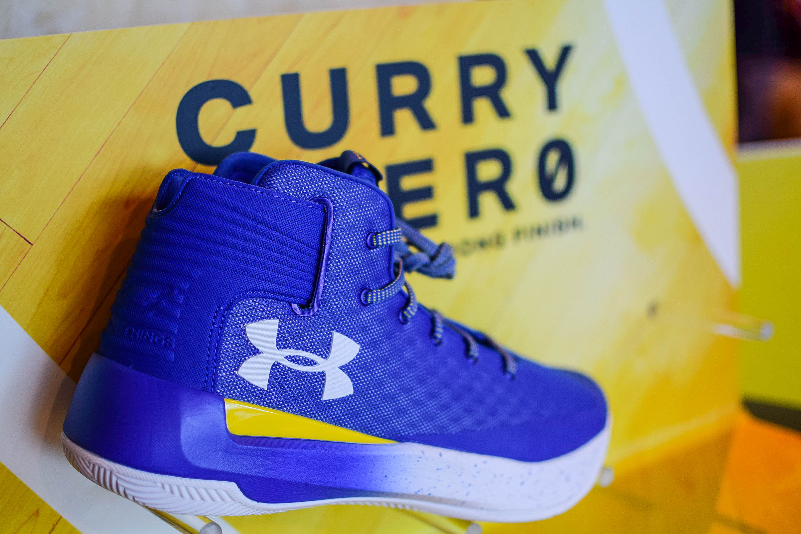 Under Armour successfully launches Curry 3ZER0 in the Philippines