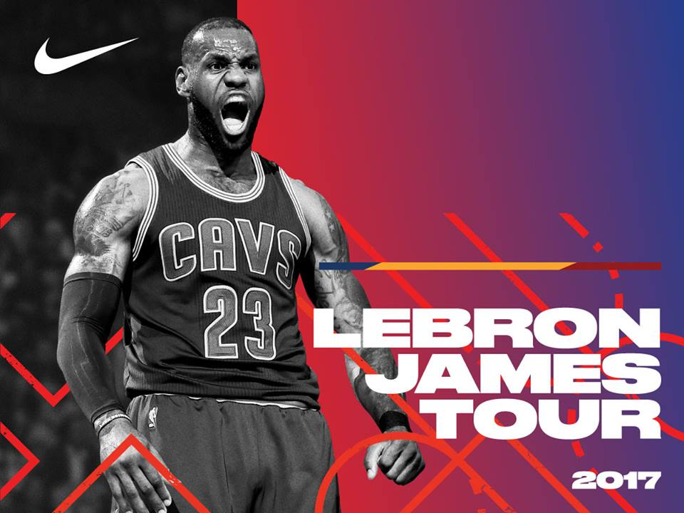LeBron James will inspire Pinoys to Strive for Greatness with LeBron James Tour Manila 2017