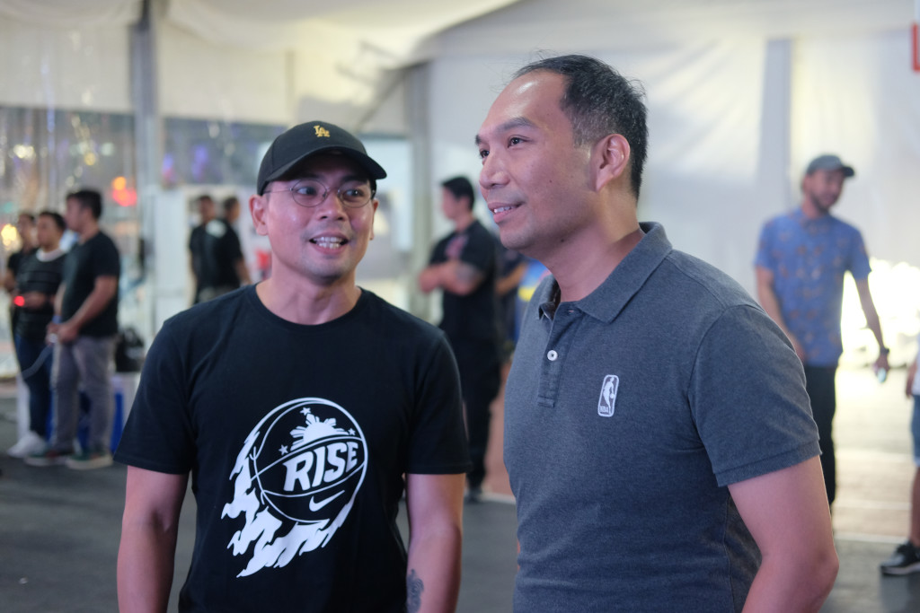 Jinno Rufino with Carlo Singson