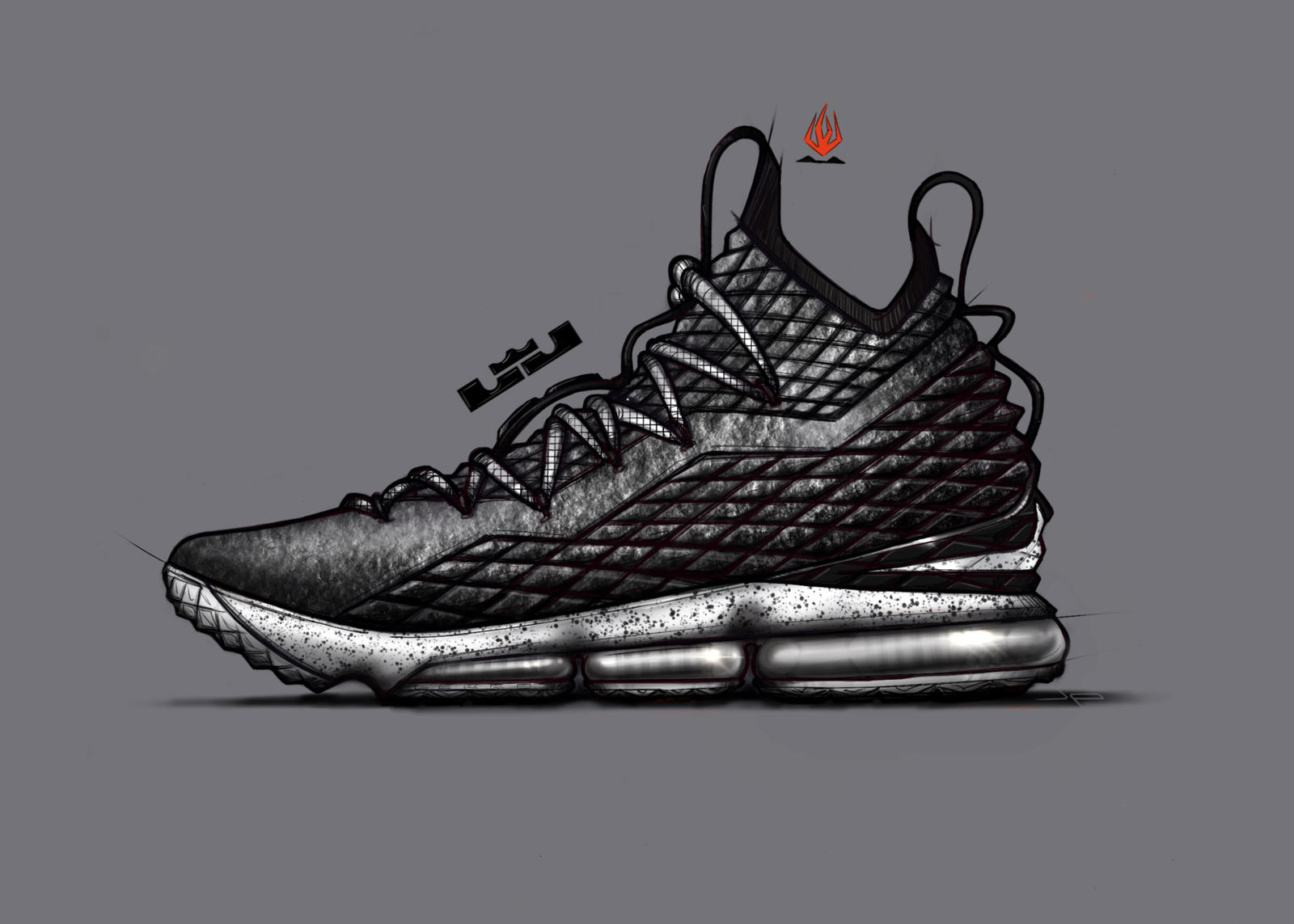 The LEBRON 15 ASHES