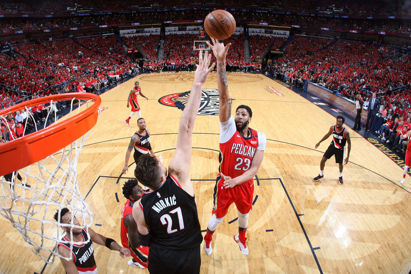 Pelicans Vs Trail Blazers Detail: 2018 NBA Playoffs: Pelicans Send The Blazers To An Early