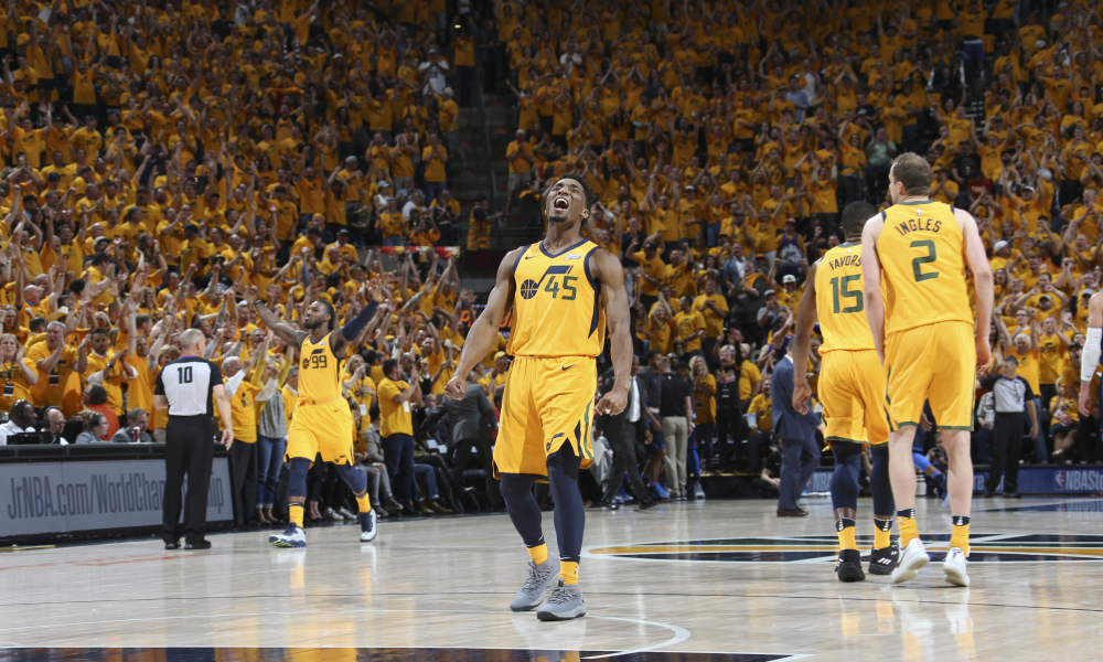 2018 Nba Playoffs Mitchell Leads The Jazz To The Next