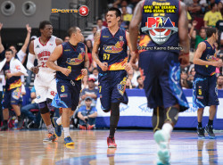 Rain or Shine gets the better of Ginebra once again