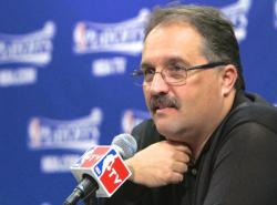 "The Detroit Pistons are embracing Stan Van Gundy's ""form a f***ing wall"" command"