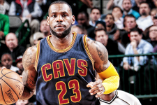 LeBron James shrugs off slow start, submits do-it-all performance to put Cavs up 3-0