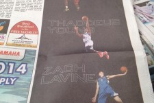 Timberwolves already running newspaper ads for players acquired in Kevin Love trade
