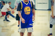 PHOTO: Manny Pacquiao visits the Golden State Warriors