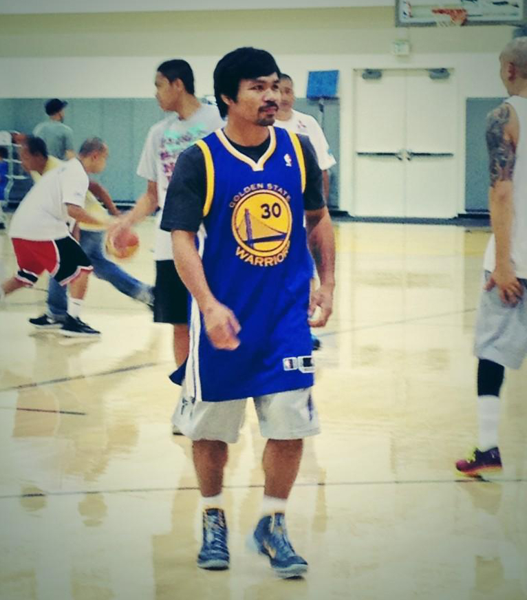 Warriors Path State Park Swimming Pool: PHOTO: Manny Pacquiao Visits The Golden State Warriors