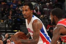 Detroit Pistons point guard Brandon Jennings out for the season
