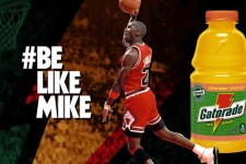 Gatorade and Michael Jordan celebrate 23 years of Be Like Mike