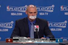 VIDEO: Mavericks coach Rick Carlisle makes sure he won't be fined for criticizing the officiating again