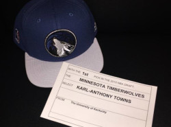 Karl-Anthony Towns tops first round of the 2015 NBA Draft