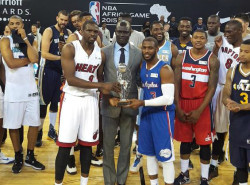 Team World edges Team Africa in first-ever NBA Africa Game