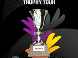 Solar Sports brings the FIBA World Cup Trophy to Manila