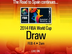 Catch the FIBA World Cup draw on BTV and Solar Sports