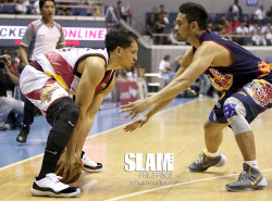 Fajardo Powers SMB To a Win Over Rain Or Shine