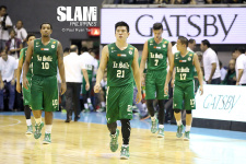 La Salle versus San Beda Finals rematch banners 2015 FilOil tourney opening day