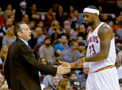 LISTEN: David Blatt, LeBron James talk Cavaliers in the NBA Finals