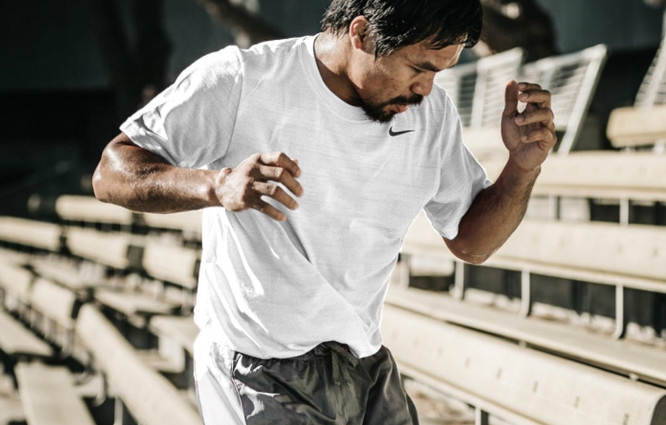 Nike 1-on-1: Pacquiao talks training, the mental game and the fight of the century