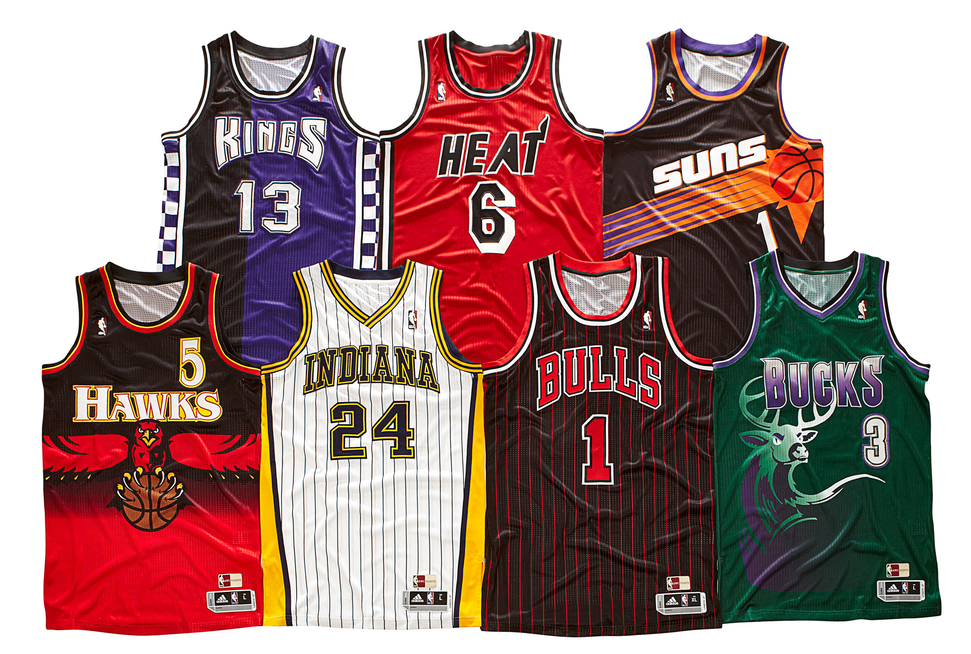 adidas Rolls Out '90s NBA Uniforms for NBA Hardwood Classics Nights